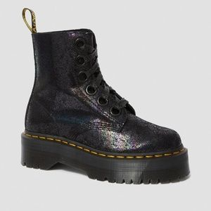 Dr. Martens Women's Molly Metallic US 8